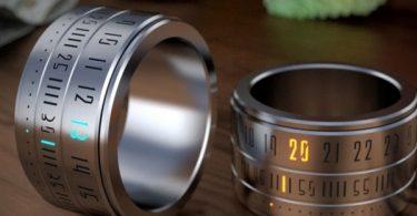 montre-bague ring clock