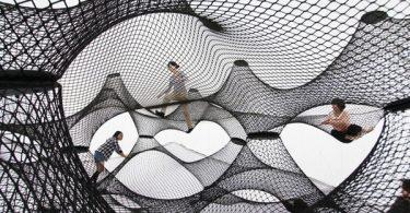 château gonflable Net Blow