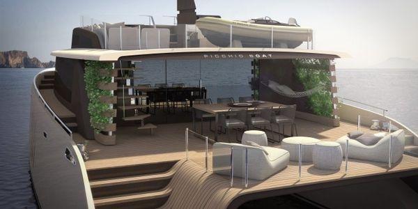 concept de catamaran