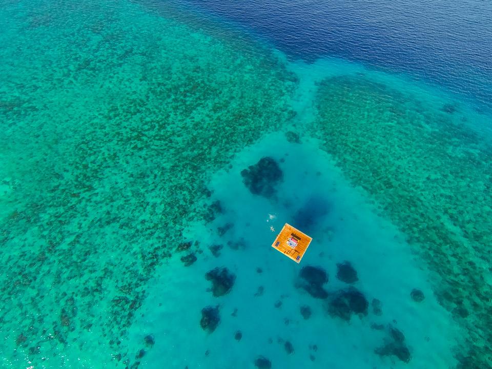 hôtel insolite underwater room