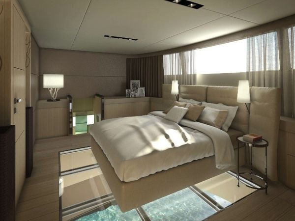 Un catamaran de luxe de 21 m tres de long mon coin design for Yacht de luxe interieur