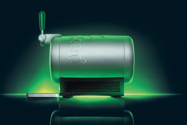 tireuse à biere Sub par Heineken