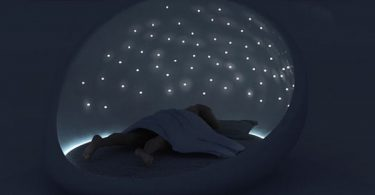 lit insolite cosmos bed