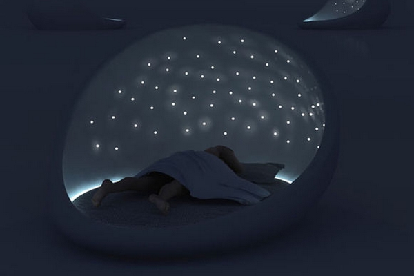 cosmos bed un lit insolite pour dormir la belle toilemon coin design. Black Bedroom Furniture Sets. Home Design Ideas