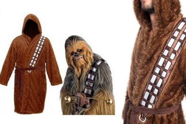 Le peignoir Chewbacca : la douceur du wookie à l'état pur !