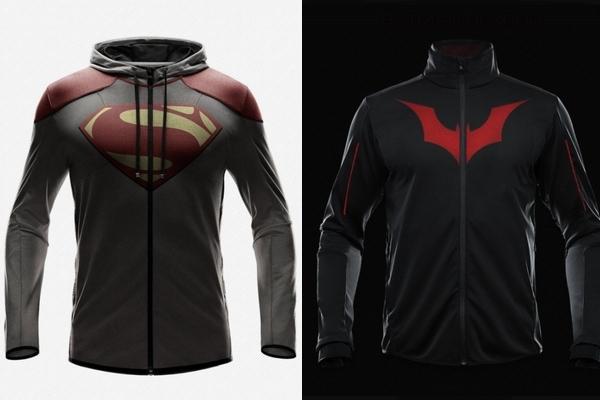 sweat superheros