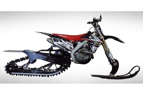 kit de conversion pour moto des neiges