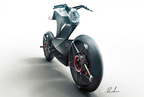 concept de moto de 2014