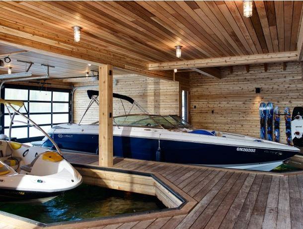 hangar à bateaux design