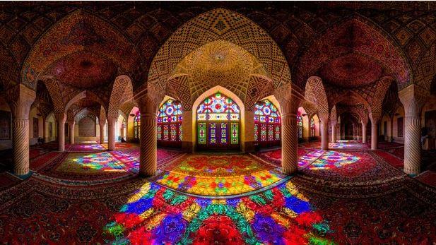 mosquée Ol-molk à Chiraz