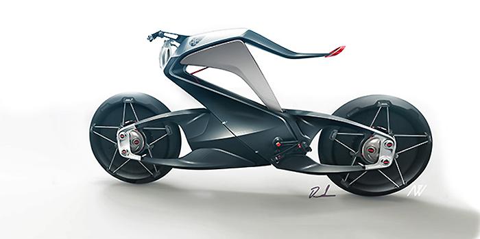 concept de moto 2014