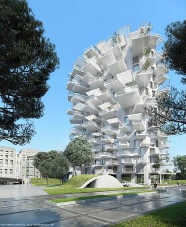 concept immeuble à Montpellier