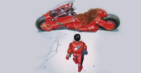 la moto d'Akira en vraie