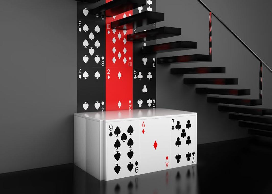 poker dans la déco