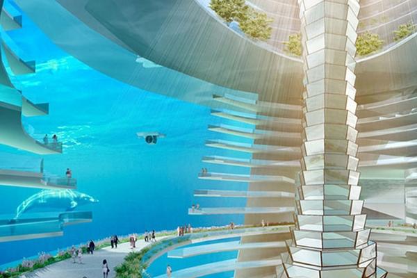 ville sous-marine de China Communication
