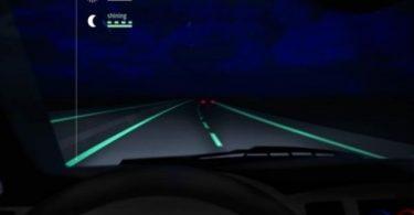 autoroute phosphorescente Pays Bas