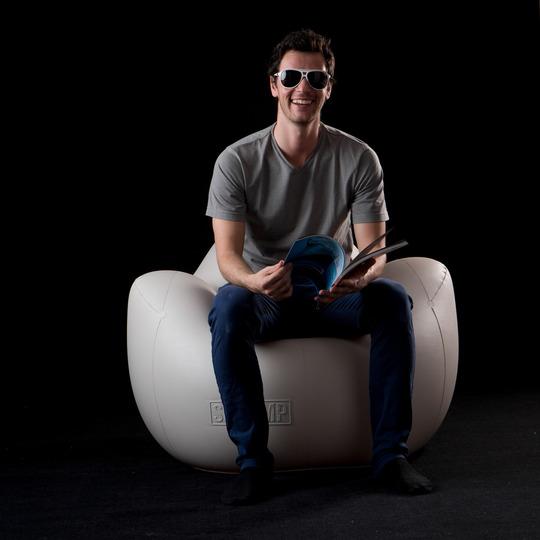 fauteuil gonflable design