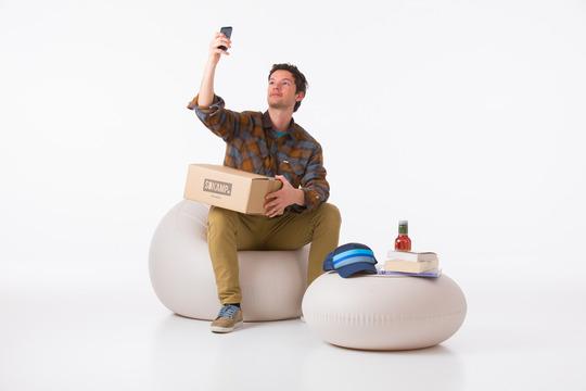 meuble à gonfler