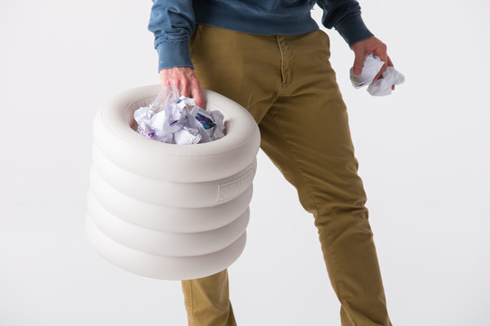 mobilier gonflable par Sokamp