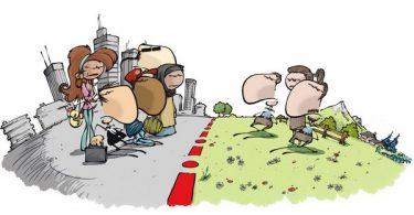 ville versus campagne