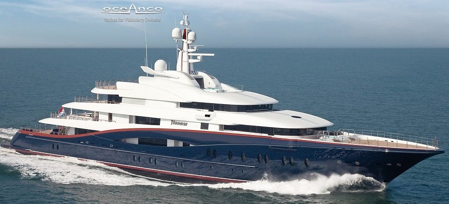 bateau de luxe Nirvana