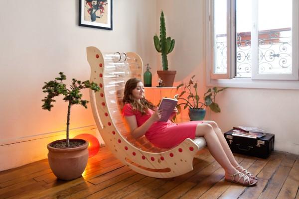 rocking chair KusKus Plastiketic