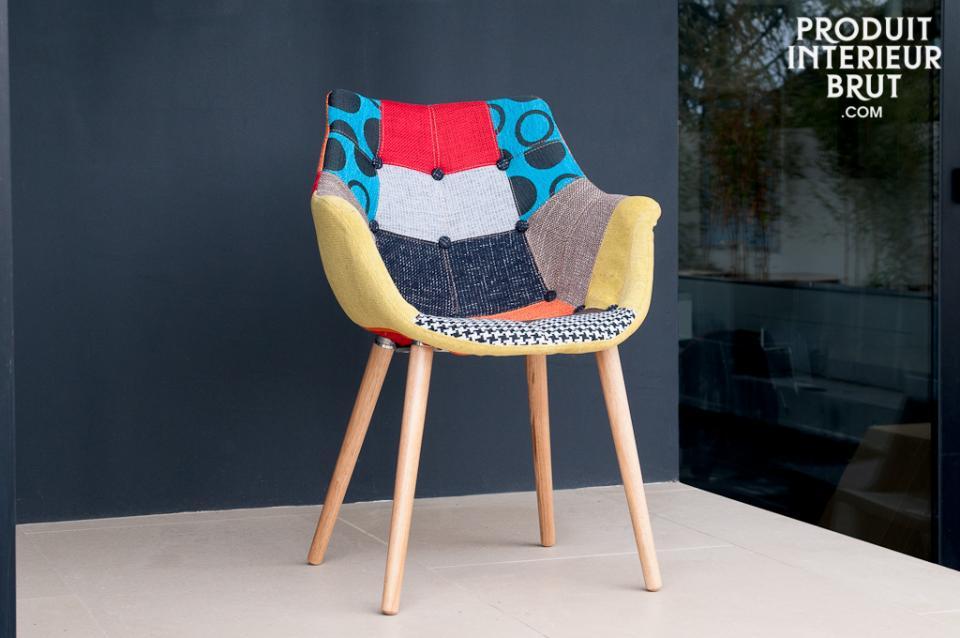 fauteuil-patchwork-scandinave