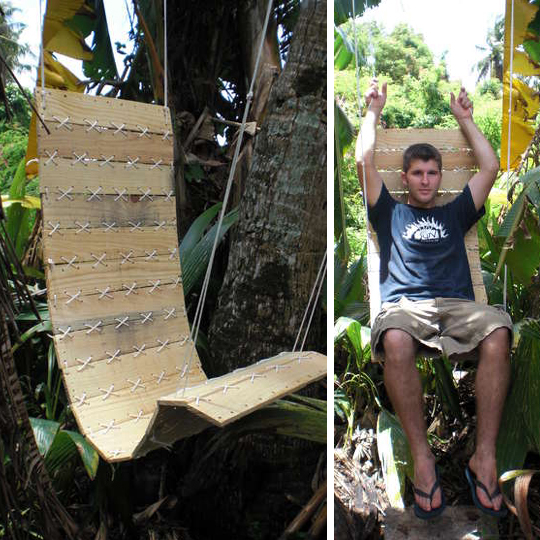 meubles en bois recyclé