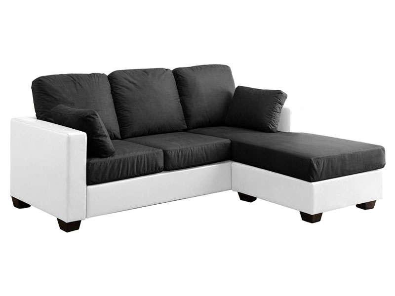 canapé d'angle design promo