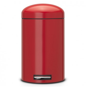 poubelles design rouges