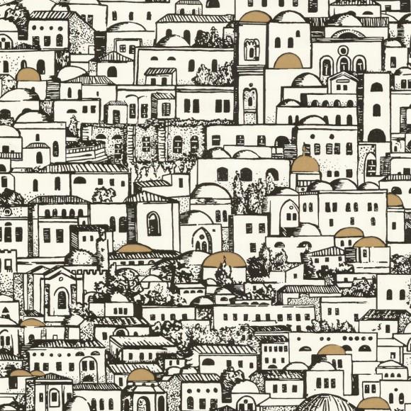 papier peint décor méditerranéen