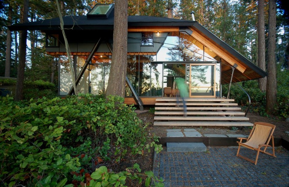 La cabane dans les bois mon coin design for Cabane en bois design
