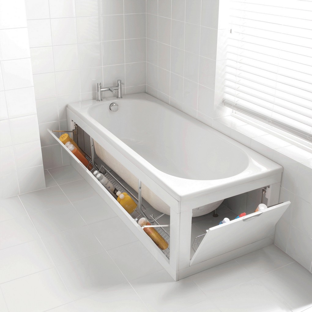 Une baignoire design révolutionne la salle de bain -