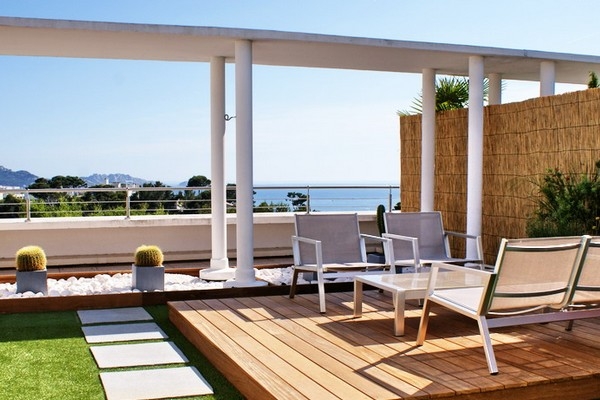Quand l'aménagement extérieur sublime votre terrasse...