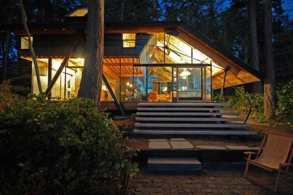 sneeoosh cabin par studio zeroplus architects