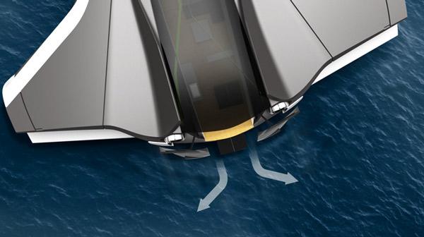 yacht hydrogène