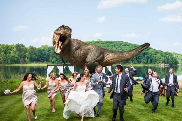 photo de mariage insolite