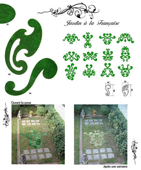 kit de jardin personnalisé par Romain Duclos