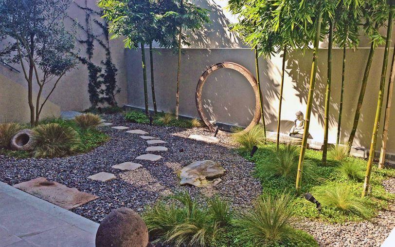agencer jardin trendy amenager son jardin avec des pierres petit jardin japonais en pente. Black Bedroom Furniture Sets. Home Design Ideas