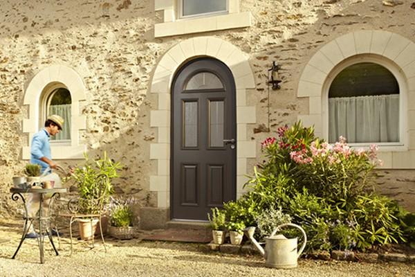 acheter une porte d'entrée moderne