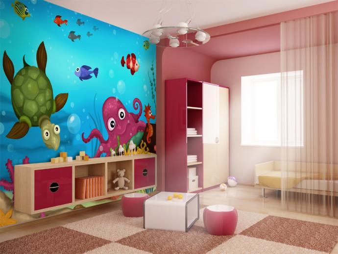 papier peint pour enfants