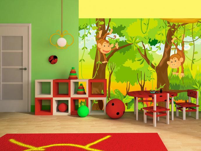 Les plus beaux papiers peints et tableaux enfants sont ici mon coin design - Papier peint pour enfant ...