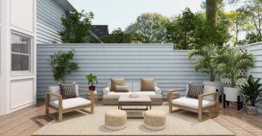 mobilier jardin deco exterieur