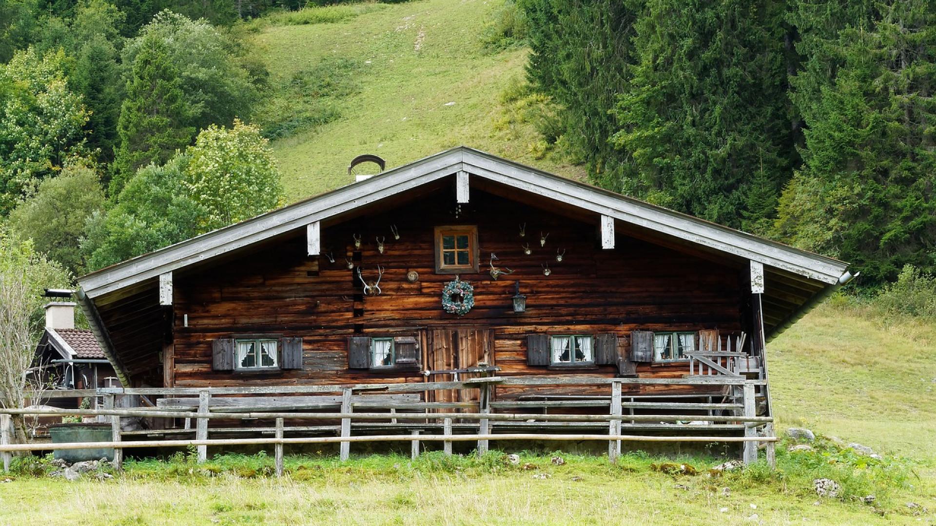 La maison en bois correspond un v ritable art de for Art maison la thuile