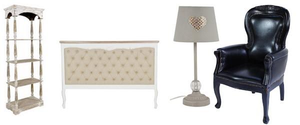 meubles et objets décoration vintage
