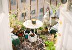 table de jardin pliante aménagement petit balcon