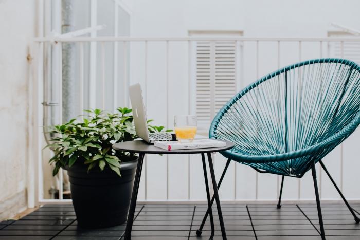 table de jardin pliante meuble extérieur