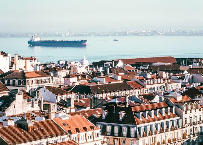 auberge de jeunesse lisbonne vue ville portugal