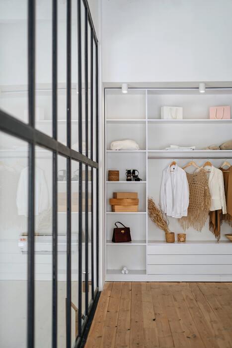 meuble rangement chambre design conforama